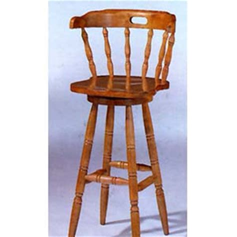 Colonial Bar Stools by Oak Finish Colonial Bar Stool 4884a Co Idollarstore