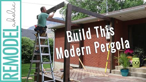 pergola pictures on deck how to build a pergola on a deck diy modern pergola