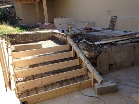 Comment Faire Un Escalier En Beton 4740 by Coffrage Escalier Beton Exterieur Evtod
