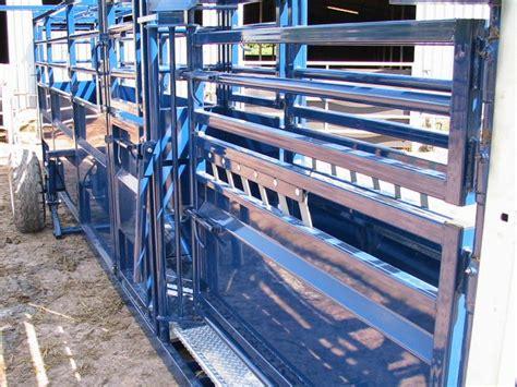 mobile crush mobile cattle handling crush gsf livestock systems
