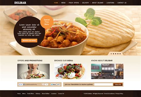 web cuisine modern professional web design for rasmus leyes by