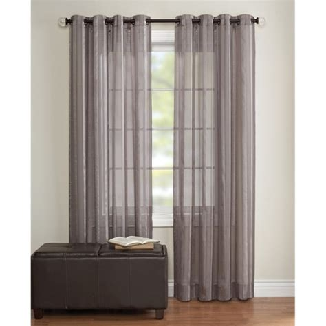 Grey Sheer Curtains Sheer Curtain Panel Grey Bisque Our House Is A F