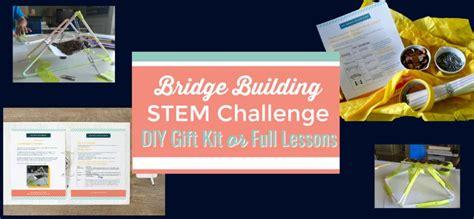 bridge design challenge  stem challenges  enhance learning