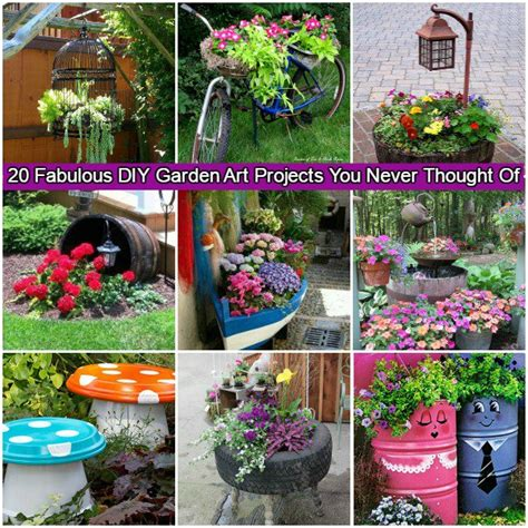 Craft Home And Garden Ideas 20 Fabulous Diy Garden Projects For This