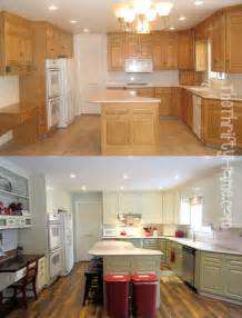 Polyurethane Paint For Kitchen Cabinets The Thrifty Home Kitchen Remodel Painting Cabinets