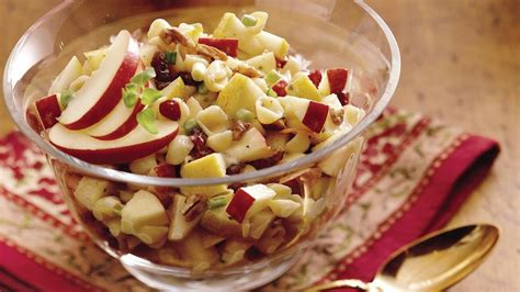 winter pasta salad winter fruit pasta salad recipe from betty crocker
