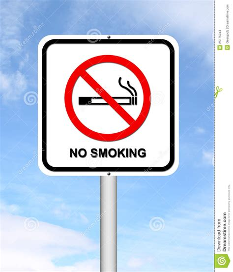 no smoking sign blue stock images no smoking sign with blue sky image 25375944