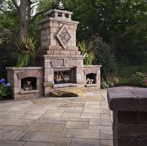 bristol fireplace outdoor fireplaces other metro by