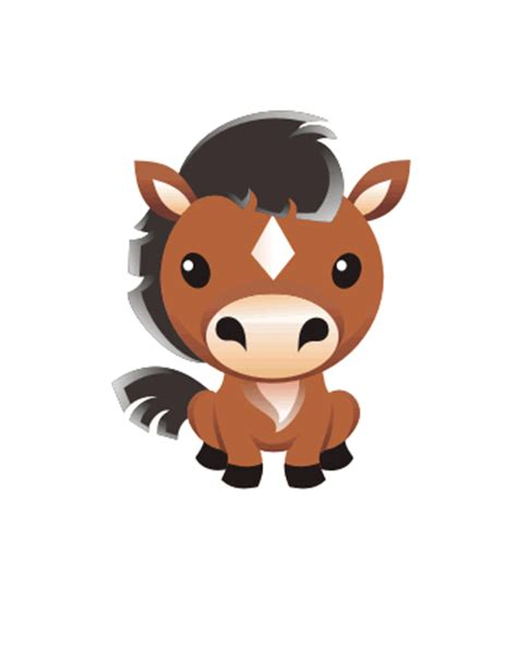 cute cartoon baby pony cute baby horse cartoon www pixshark com images