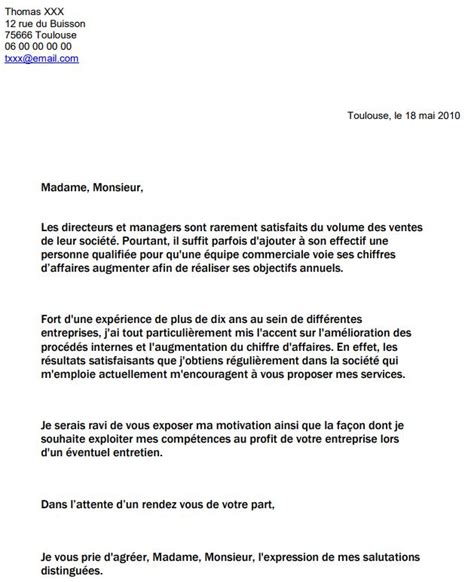 Lettre De Motivation Pour Cabinet De Recrutement by Exemple Lettre De Motivation Cabinet De Recrutement