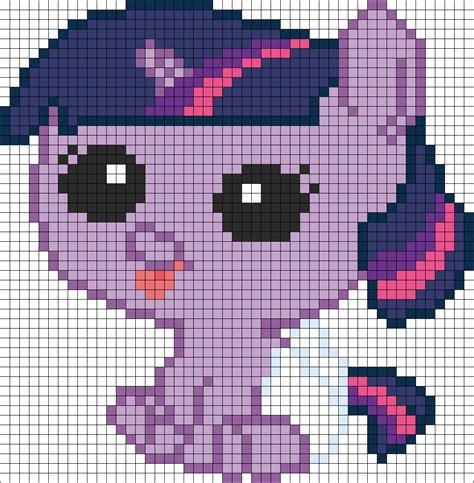my pony perler bead patterns my pony newborn twilight sparkle perler bead