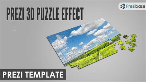 3d Puzzle Effect Prezi Template Prezibase Puzzle After Effects Template