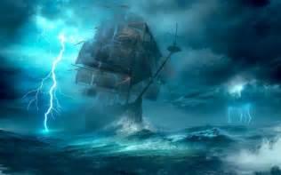 stormy seas paintings wallpapers  images desktop