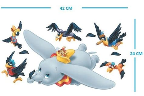 dumbo wall stickers dumbo the elephant wall stickers nursery baby