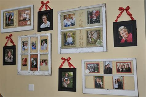 craft ideas with old windows decorating ideas using old windows curly q crafts wall