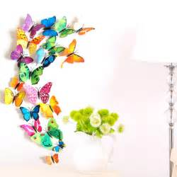 3d Butterfly Wall Stickers pics photos 12 pcs 3d wall sticker stickers butterfly home decor