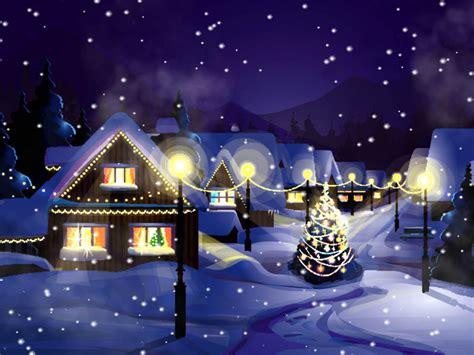 christmas snowfall animated wallpaper    software reviews cnet downloadcom