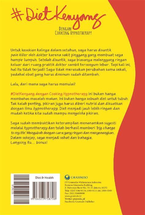 Murah Buku Diet Kenyang Dengan Cooking Hypnotherapy Dewi Hughes 1 jual buku dietkenyang dengan cooking hypnotherapy oleh dewi hughes scoop indonesia