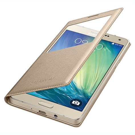Flip Cover S View Samsung Galaxy A5 2017 A520 Auto Lock Flipcover for samsung galaxy a3 a5 a7 a8 s view window pu leather wallet flip cover ebay