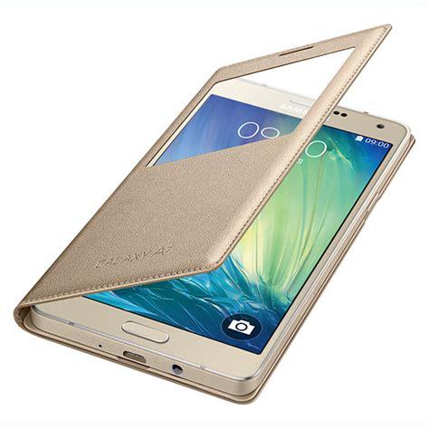 Transparan View Flip Cover For Samsung Galaxy A5 A510 2016 for samsung galaxy a3 a5 a7 a8 s view window pu leather wallet flip cover ebay