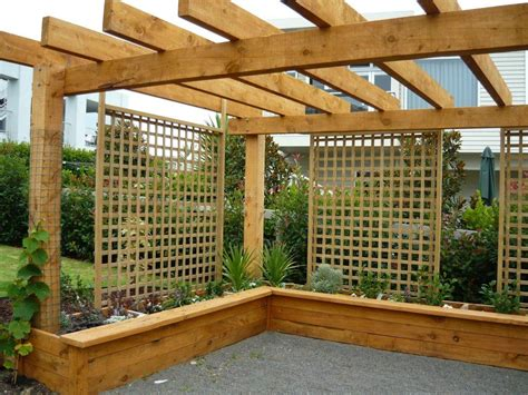 Pictures Of Canopy Beds macrocarpa raised gardens solid tables pergolas