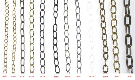 Chain For Chandelier Plated And Coated Steel Chains For Chandeliers Highland Lighting