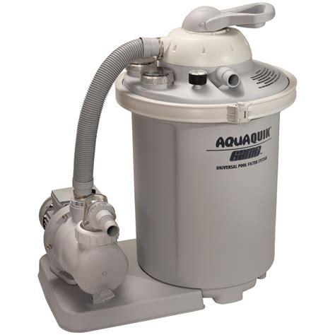 g a m e aquaquick 174 3 4 hp sand filter for above ground