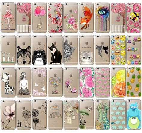 Anima Pattern For Iphone 66s new fashion animal pattern slim soft tpu phone for iphone 6s 5s 5c ebay