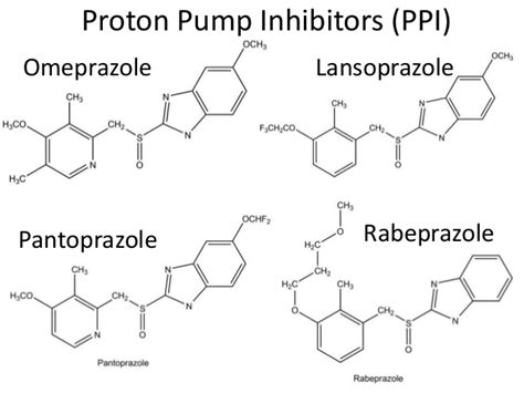 Pantoprazole Proton Inhibitor Med Chem Lecture On Anti Ulcer Drugs