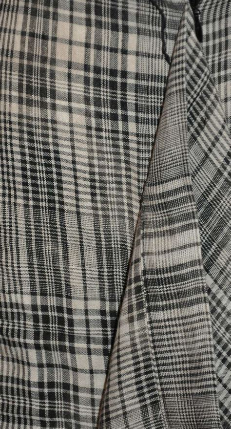 Be Tartan And Plaid Pretty In This Vivienne Westwood Dress by Vivienne Westwood Black And White Linen Plaid