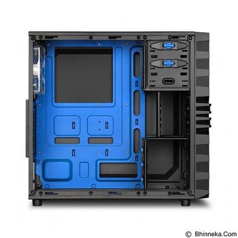 Casing Sharkoon Vg4 W Blue Atx jual sharkoon casing pc vg4 w blue merchant murah bhinneka