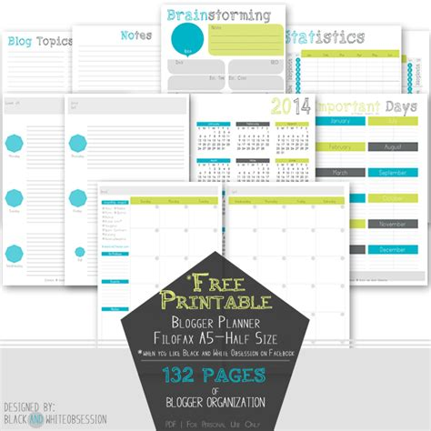 printable personal planner dividers 6 best images of free printable personal planner dividers