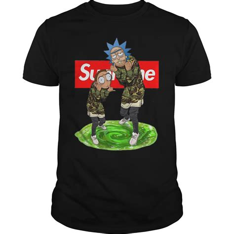supreme shirt supreme rick and morty sweatshirt