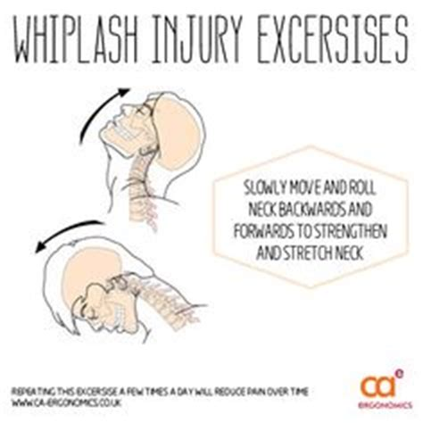 1000 images about neck back whiplash injury exercise on neck doctor of