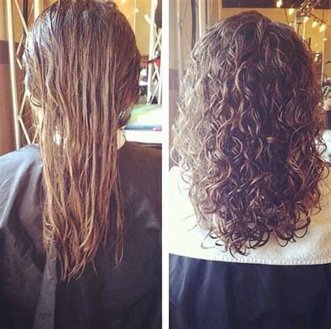 boomarang perm photos on long hair 20 perm styles my style pinterest permanentes