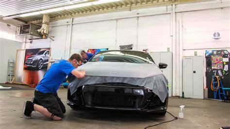 Auto Folie Hellgrau Matt by Fahrzeugfolierung Car Wrapping Vw Scirocco Grau Matt By