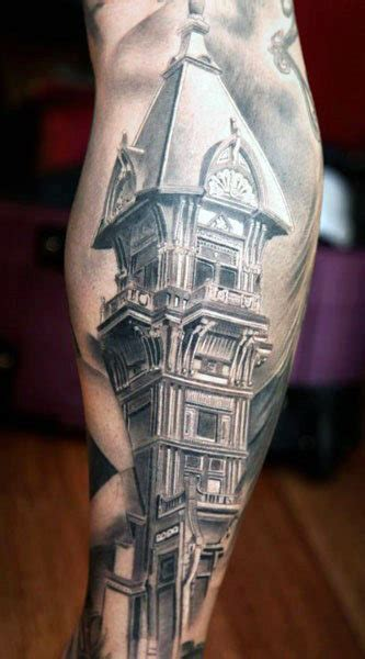 building tattoos 90 building tattoos for architecture ink design ideas