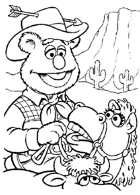 Muppet Show Coloring Pages Coloringpages1001 Com Muppets Coloring Pages