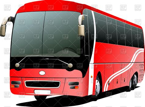 red couch bus tourist coach red bus 51224 transportation download