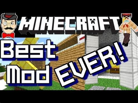 best mod game ever minecraft best mod ever amazing potential youtube