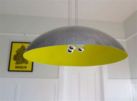 large 26 steel dome pendant light custom color