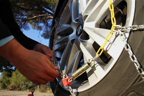 cadenas de nieve alternativas aprende a montar las cadenas del coche