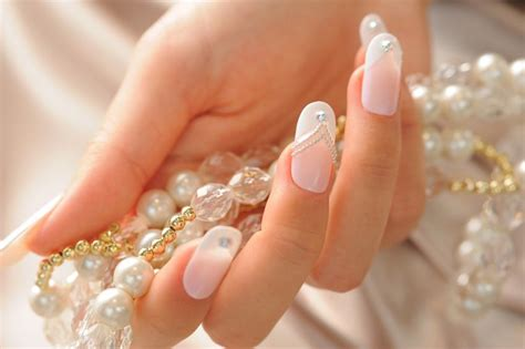 Wedding Bell Nail Design by The 15 Best Wedding Nail Ideas