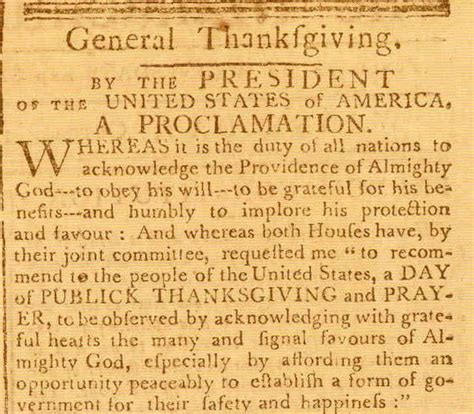 another day in the of america a chronicle of ten lives books george washington s thanksgiving proclamation