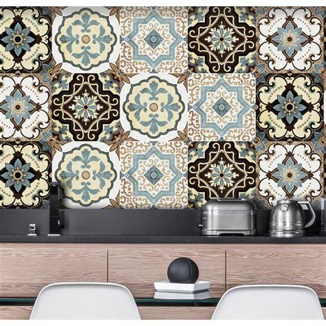 azulejos adhesivos cocina vinilos decorativos myvinilo 174 azulejos adhesivos retro