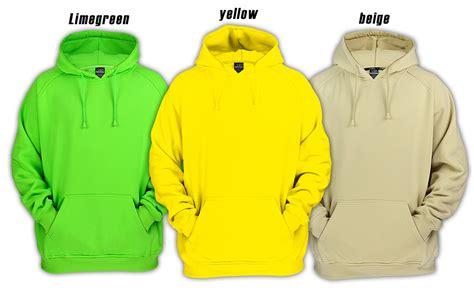 Jaket Hoodie Uber By Modus Os classics blank hoodie hoody jacke 16 farben s 5xl ebay