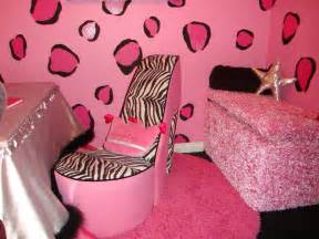 Hot pink zebra room decor submited images
