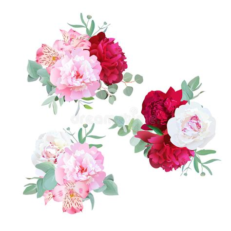 attraction luxury roses bouquet dream world florist luxury floral bouquets of peony alstroemeria lily mint