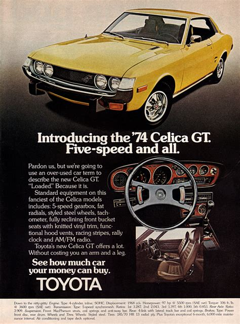 vintage toyota ad 10 classic ads 1974 the daily drive consumer guide 174