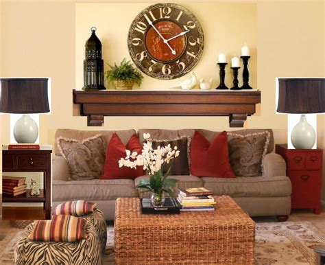 living room mantle the yellow cape cod one wall 6 different looks